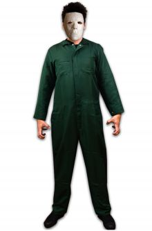 Michael Myers Deluxe Adult Costume  sc 1 st  Pure Costumes : halloween michael myers costumes  - Germanpascual.Com