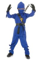 Secret Ninja Child Costume (Blue)