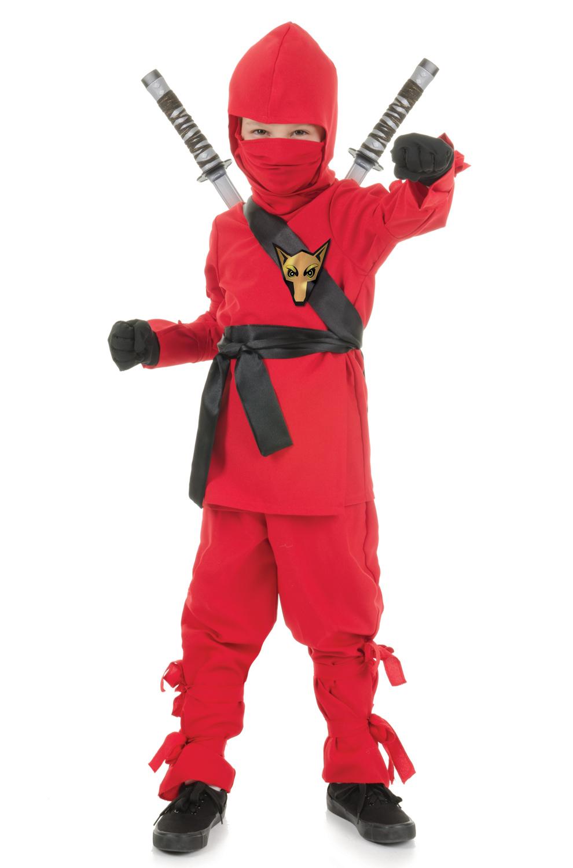 Secret Ninja Child Costume Red Purecostumes Com