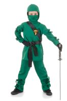 Secret Ninja Child Costume (Green)