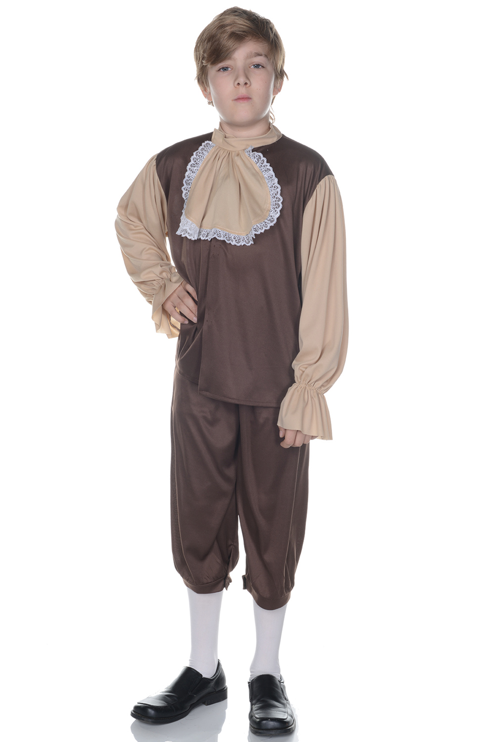 Childrens historical costumes purecostumes colonial boy child costume solutioingenieria Image collections