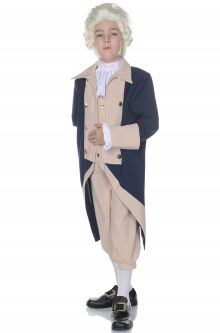 Historical Figures Costumes George Washington Presidential Child Costume