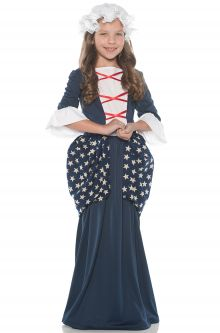 Historical Figures Costumes Betsy Ross Child Costume