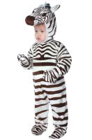 Cuddly Zebra Toddler Costume