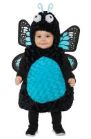 Blue Butterfly Belly Baby Toddler Costume
