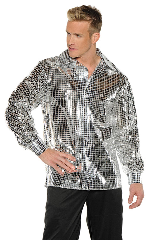 Disco Ball Shirt Adult Costume Purecostumes Com