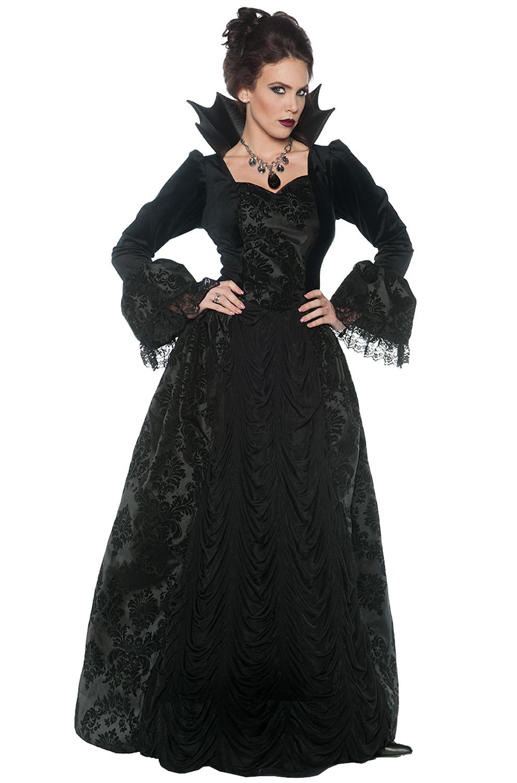 Gothic Evil Queen Adult Costume  sc 1 st  Pure Costumes & Vampire Costumes - Count Dracula Costume Ideas - PureCostumes.com