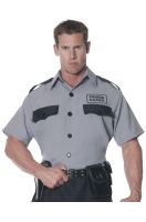 Prison Guard Shirt Adult Costume