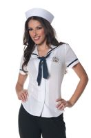 Sailor Fitted Shirt Adult Costume