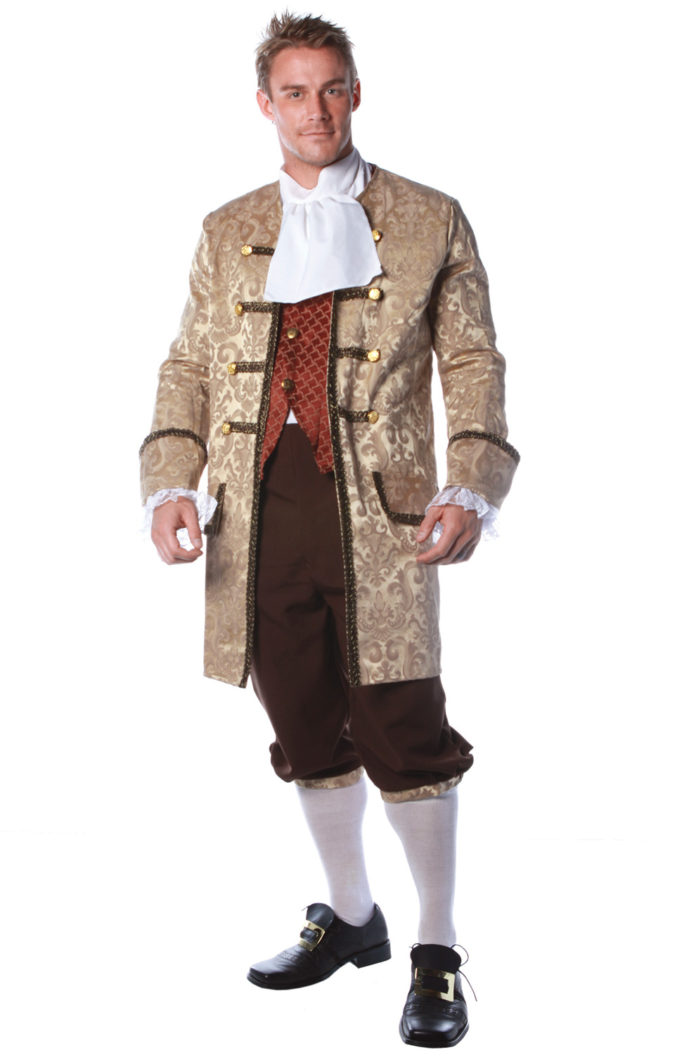sc 1 st  Pure Costumes & Noble Colonial Man Adult Costume - PureCostumes.com
