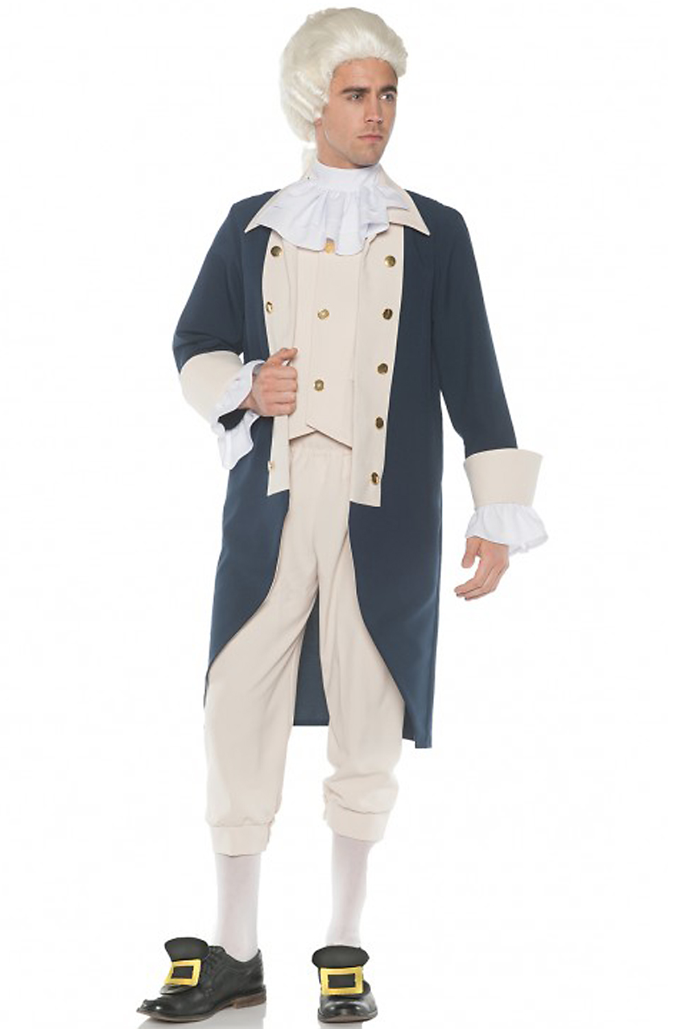 Famous people costumes celebrity diy dress up ideas colonial founding father adult costume solutioingenieria Image collections