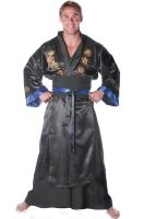 Samurai Warrior Male Plus Size Costume (Black)
