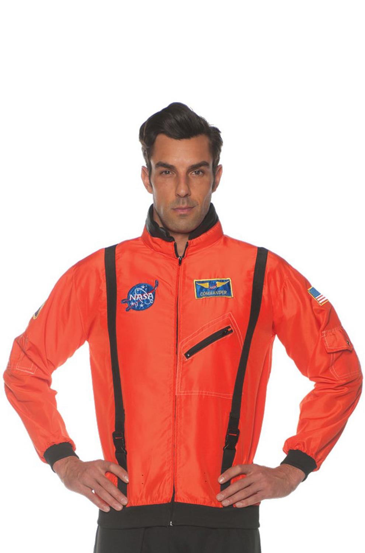 NASA Inspired Astronaut Jacket Child Costume Orange