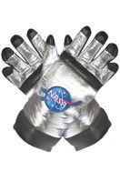 Astronaut Adult Gloves (Silver)