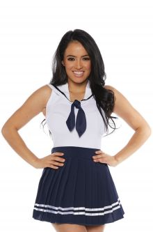 Professional uniform costumes top occupational uniforms ideas sailor skirt set adult costume navy solutioingenieria Gallery
