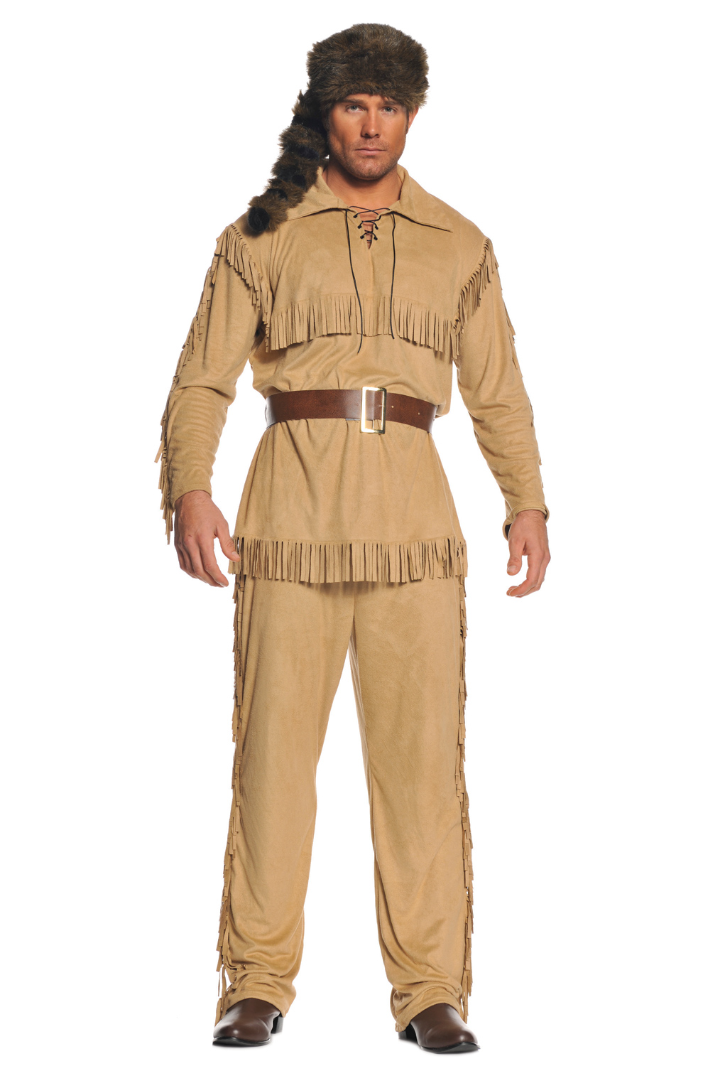 sc 1 st  Pure Costumes & Frontier Man Adult Costume - PureCostumes.com