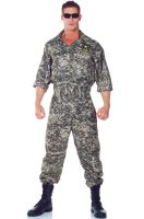 Army Jumpsuit Plus Size Costume