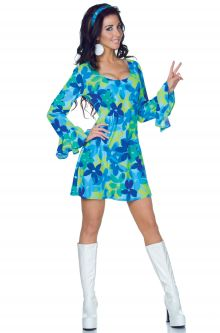 Wild Flower Adult Costume  sc 1 st  Pure Costumes & Hippie Costumes - PureCostumes.com