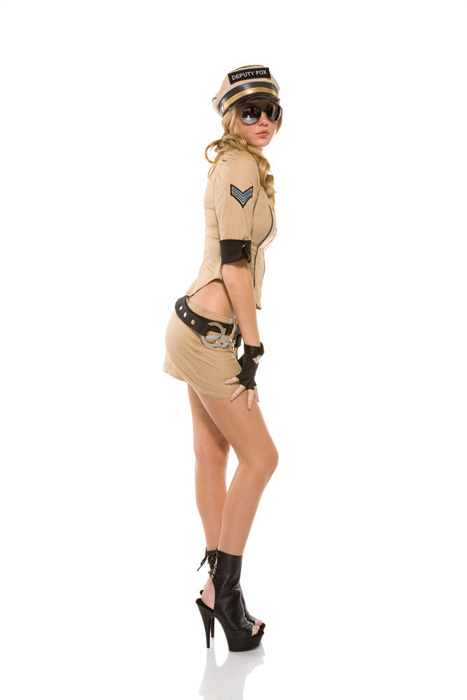 Deputy Fox Adult Costume