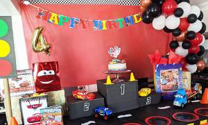Party Ideas - Disney Cars Themed Birthday Party