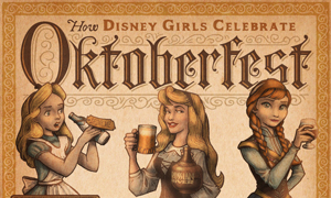Infographic: How Disney Girls Celebrate Oktoberfest