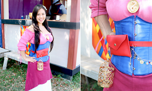 One Costume, Three Ways: DIY Renaissance Mulan